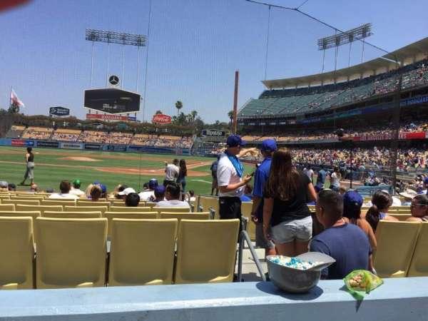 Dodger Stadium, sección: 5fd, fila: B, asiento: 9