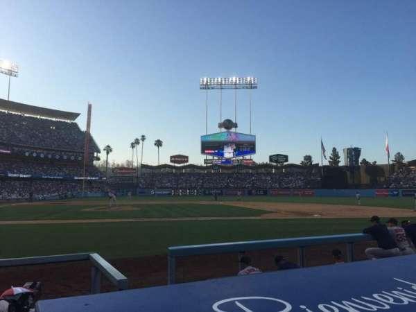 Dodger Stadium, sección: 6DG, fila: BB, asiento: 3