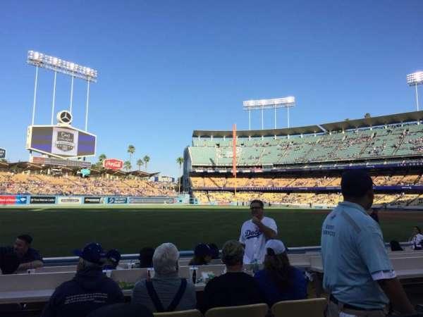 Dodger Stadium, sección: 45FD, fila: B, asiento: 3