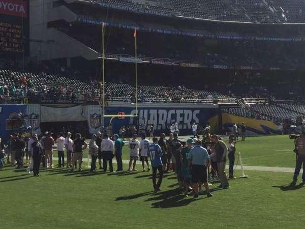 San Diego Stadium, sección: F4, fila: 2, asiento: 12