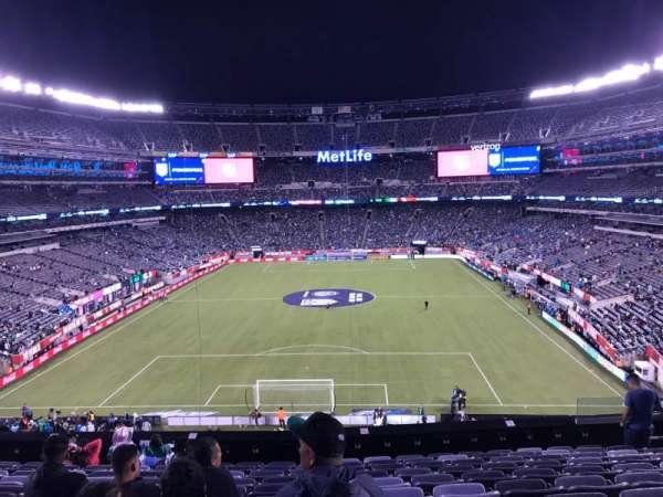 MetLife Stadium, sección: 250A, fila: 11, asiento: 10