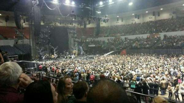 Pechanga Arena, sección: L24, fila: 5, asiento: 7 and 8