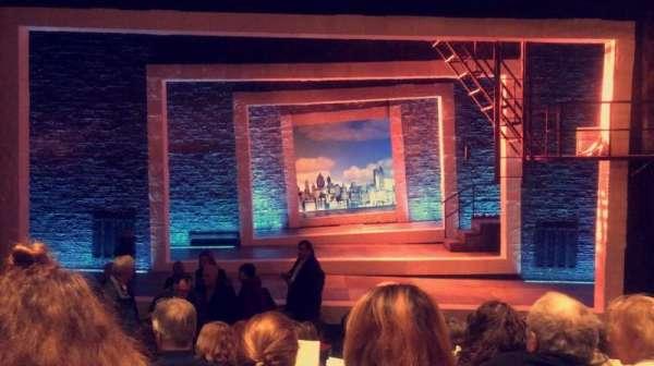 Tony Kiser Theatre, sección: Center Orchestra, fila: H, asiento: 105