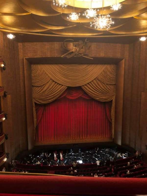 Metropolitan Opera House - Lincoln Center, sección: Balcony, fila: A, asiento: 115