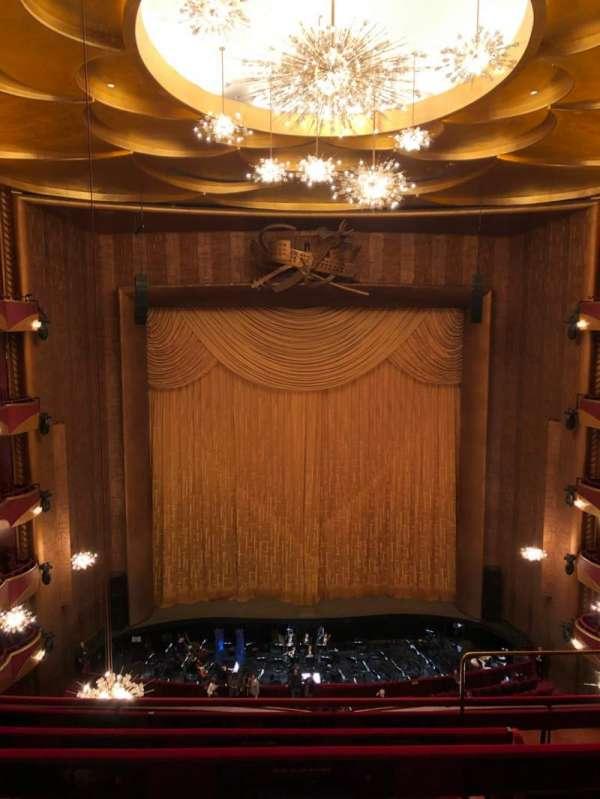 Metropolitan Opera House - Lincoln Center, sección: Balcony, fila: D, asiento: 103
