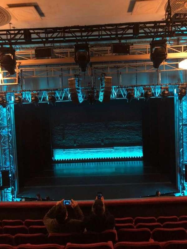 Broadhurst Theatre, sección: Mezzanine C, fila: G, asiento: 108