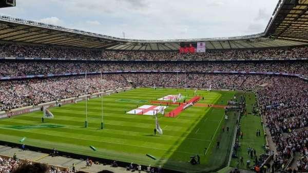 Twickenham Stadium, sección: M17, fila: 68, asiento: 38