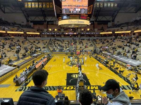 Mizzou Arena, sección: 120, fila: 14, asiento: 2