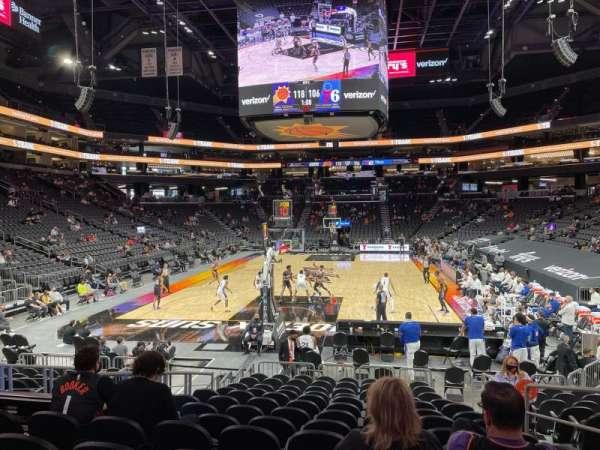 PHX Arena, sección: 108, fila: 13, asiento: 5