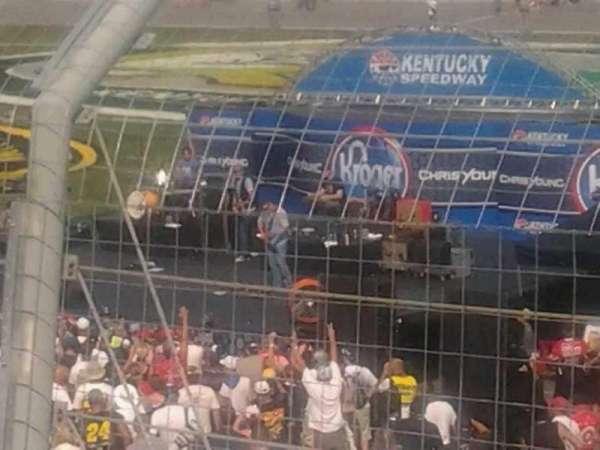Kentucky Speedway, sección: 3f, fila: 10, asiento: 6
