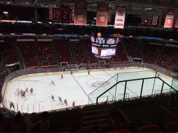 PNC Arena, sección: 326, fila: F, asiento: 5
