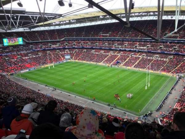 Wembley Stadium, sección: 521, fila: 33, asiento: 233