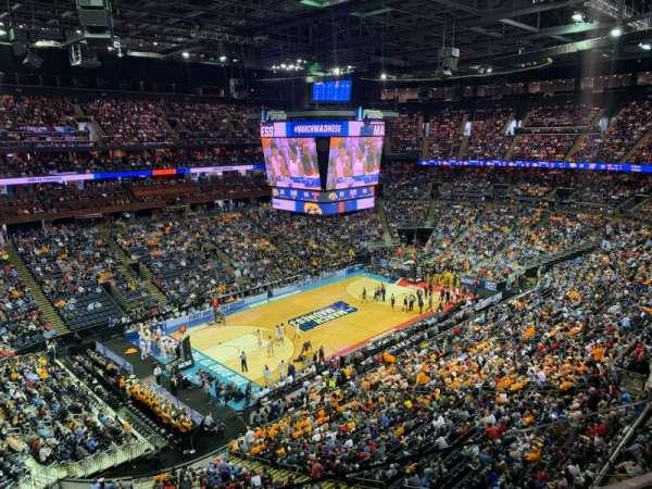 Nationwide Arena, sección: 206, fila: B, asiento: 8