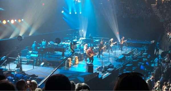 MGM Grand Garden Arena, sección: 17, fila: T, asiento: 1