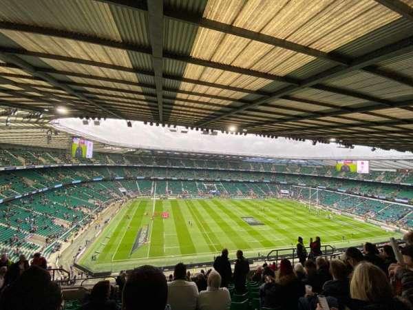 Twickenham Stadium, sección: U37, fila: M, asiento: 351