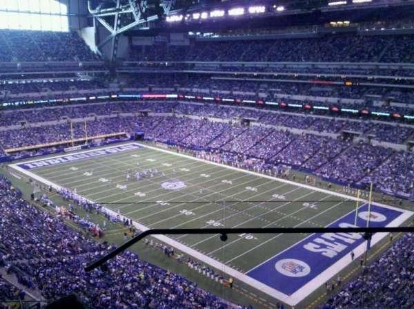 Lucas Oil Stadium, sección: 606, fila: 4, asiento: 2