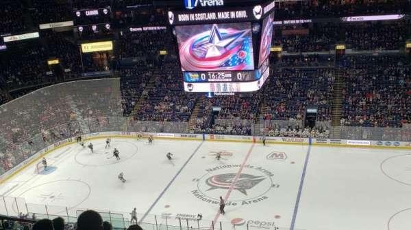 Nationwide Arena, sección: 216, fila: M, asiento: 15