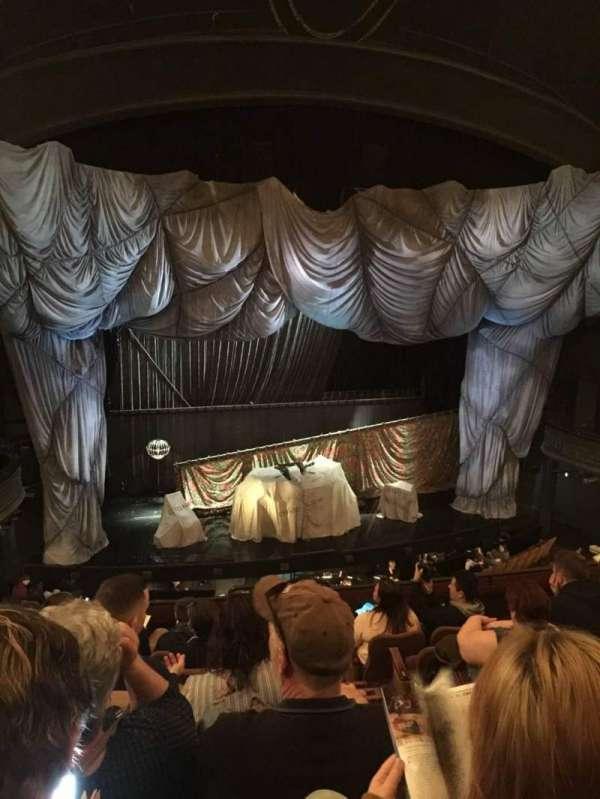 Majestic Theatre, sección: FMEZO, fila: G, asiento: 2