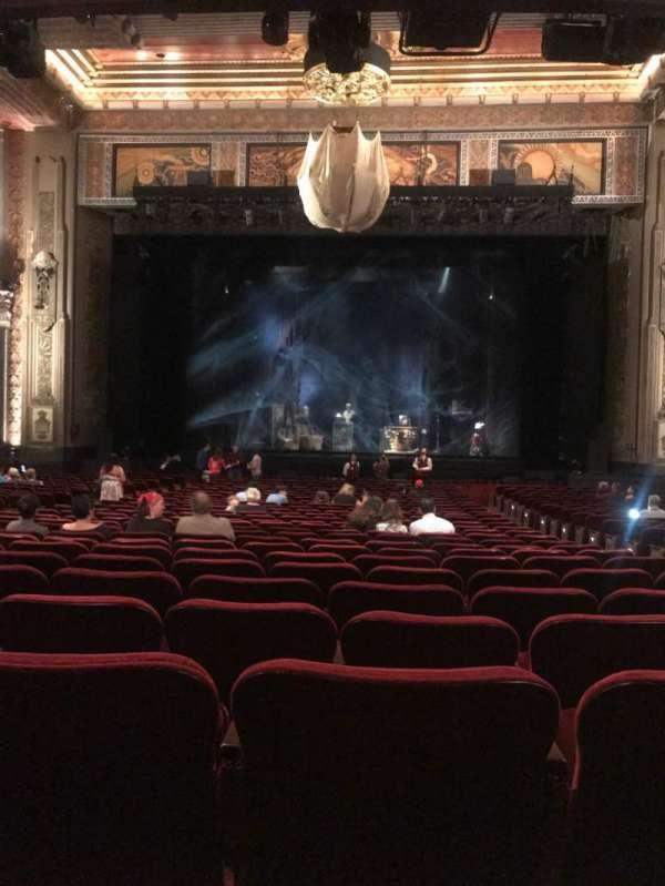 Hollywood Pantages Theatre, sección: Orchestra C, fila: PP, asiento: 104