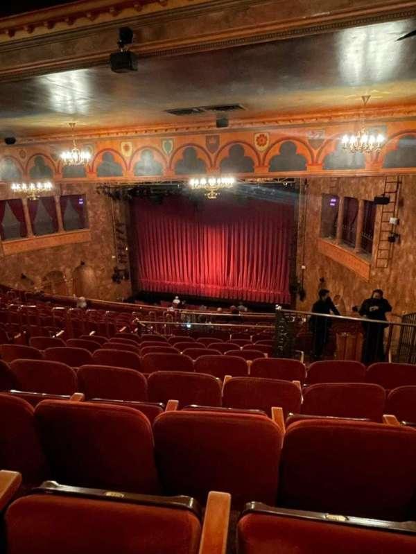 August Wilson Theatre, sección: Mezzanine R, fila: P, asiento: 16