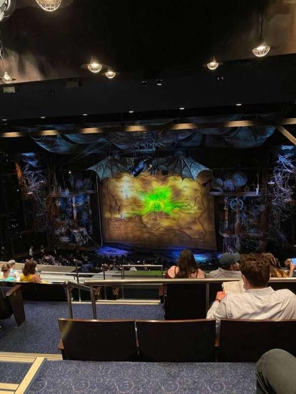 Gershwin Theatre, sección: Rear Mezzanine R, fila: H, asiento: 6