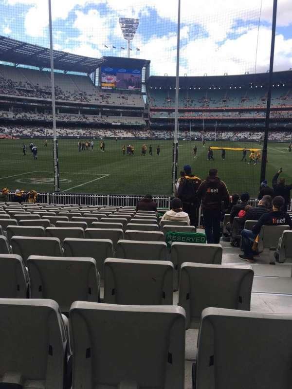 Melbourne Cricket Ground, sección: M32, fila: O, asiento: 2
