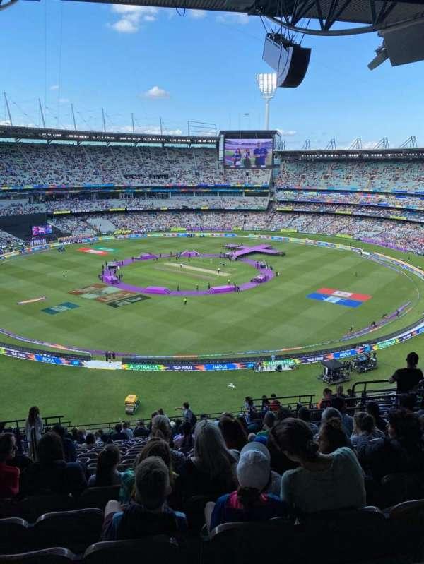 Melbourne Cricket Ground, sección: Q27, fila: W, asiento: 10