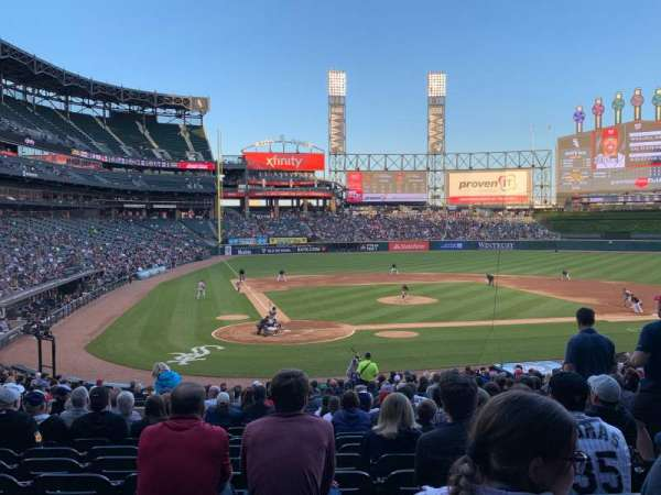 Guaranteed Rate Field, sección: 129, fila: 30, asiento: 6