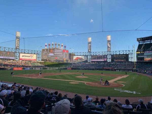 Guaranteed Rate Field, sección: 134, fila: 16, asiento: 7