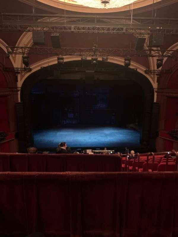 Broadway Theatre - 53rd Street, sección: Rear Mezzanine C, fila: B, asiento: 105