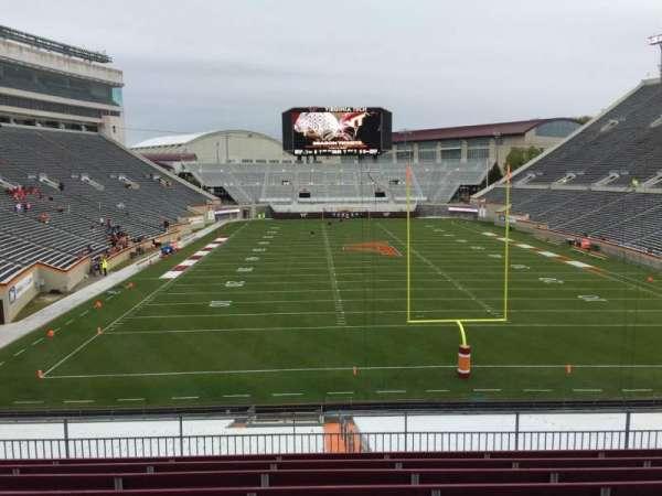 Lane Stadium, sección: 204, fila: J, asiento: 15