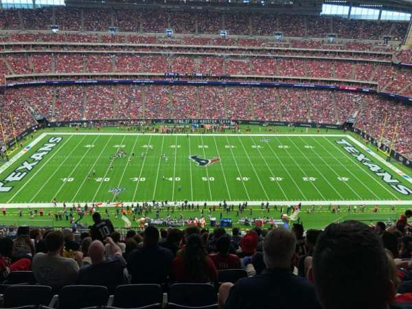 NRG Stadium, sección: 609, fila: L, asiento: 13