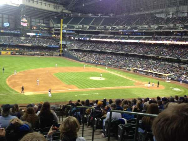 Miller Park, sección: 226, fila: 14, asiento: 2