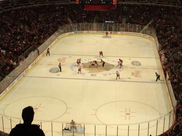 United Center, sección: 308, fila: 7, asiento: 14