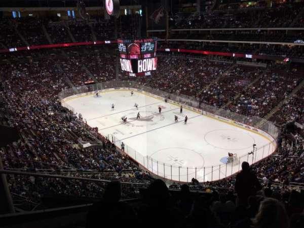 Gila River Arena, sección: 226, fila: K, asiento: 18