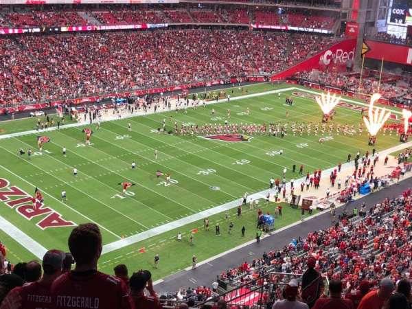 State Farm Stadium, sección: 421, fila: 13, asiento: 8