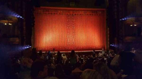 New Amsterdam Theatre, sección: Orchestra C, fila: T, asiento: 115