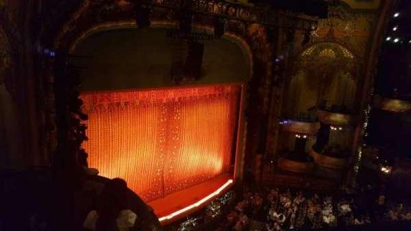 New Amsterdam Theatre, sección: Balcony L, fila: a, asiento: 31