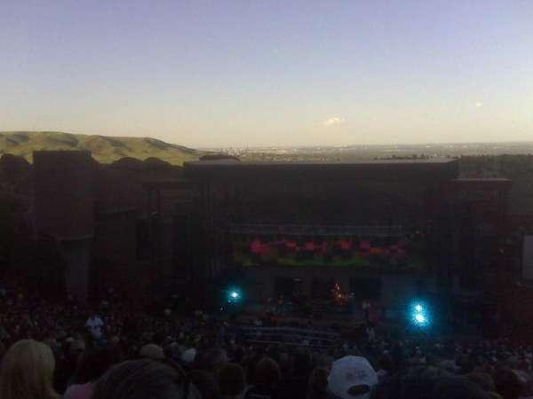 Red Rocks Amphitheatre, sección: Reserved, fila: 38, asiento: 72