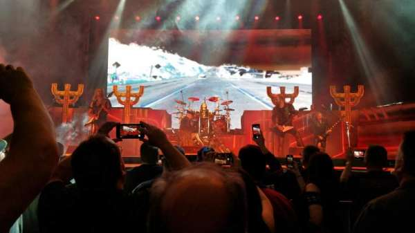 Budweiser Events Center, sección: BBB, fila: 4, asiento: 7
