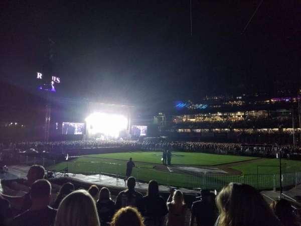 Coors Field, sección: 132, fila: 10, asiento: 1