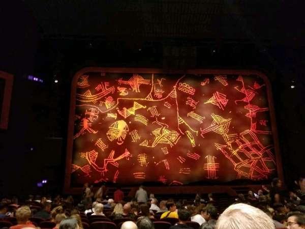 Minskoff Theatre, sección: Orchestra C, fila: P, asiento: 110