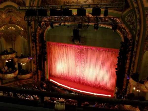 New Amsterdam Theatre, sección: Balcony R, fila: B, asiento: 10