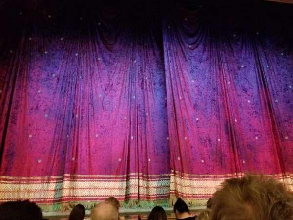 Booth Theatre, sección: Orchestra C, fila: C, asiento: 102