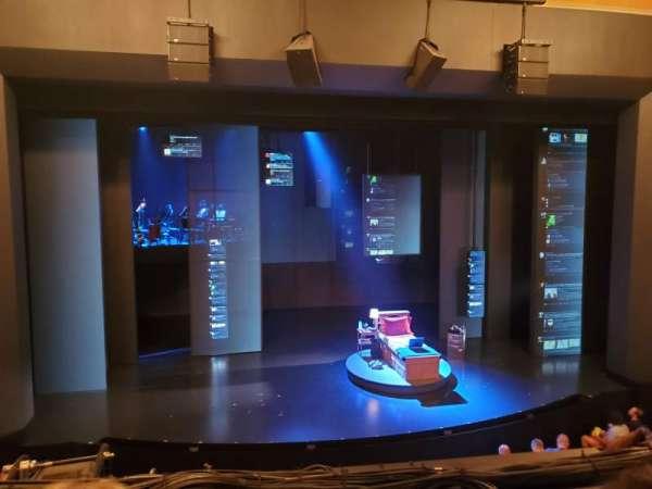 Music Box Theatre, sección: Mezzanine C, fila: B, asiento: 113