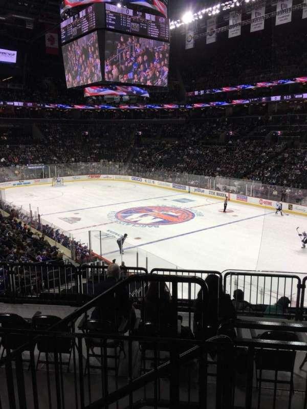 Barclays Center, sección: 104, fila: 5, asiento: 1