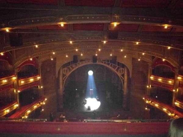 Lyric Theatre, sección: Center Balcony, fila: C, asiento: 106