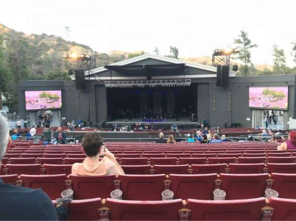 The Greek Theatre, sección: B Right center, fila: S, asiento: 124