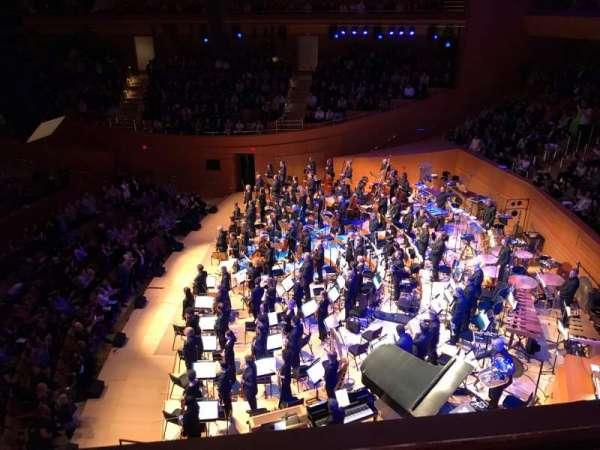 Walt Disney Concert Hall, sección: Terrace West, fila: A, asiento: 24