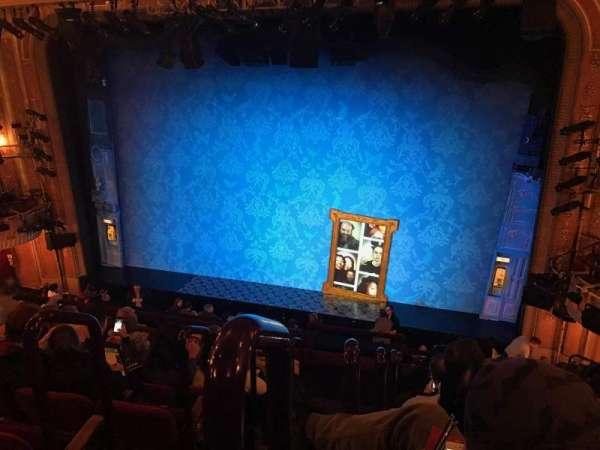 Walter Kerr Theatre, sección: Mezzanine, fila: F, asiento: 2